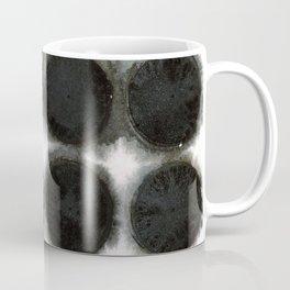 WATERCOLOUR DISCS: Black Spinel Coffee Mug