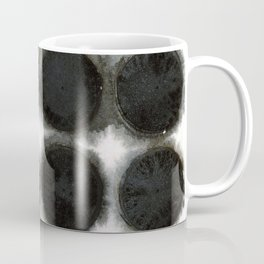 WATERCOLOUR DISCS: Black Spinel Coffee Mug