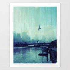 Southbank Art Print