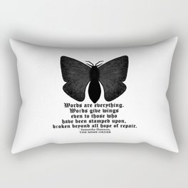 WORDS ARE EVERYTHING... Rectangular Pillow