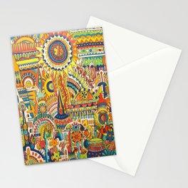 """Carnival"" Stationery Cards"