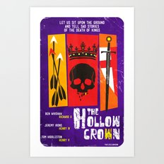 The Hollow Crown (Color Variant) Art Print