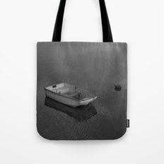 Boat B&W Tote Bag