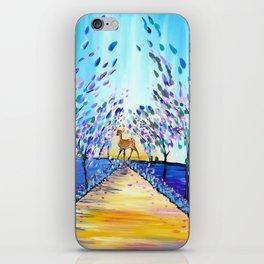 Deer in a Wood iPhone Skin