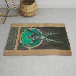 Creature From the Black Lagoon Nouveau Rug