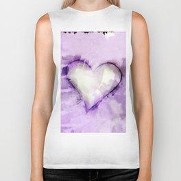Love Unfolding No.26H by Kathy Morton Stanion Biker Tank