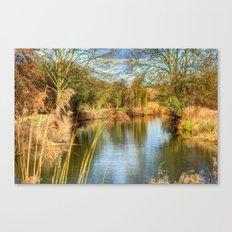 Down the river Canvas Print