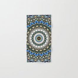 Ornate Colorful Mandala Hand & Bath Towel