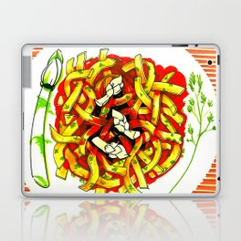 Linguine with asparagus Laptop & iPad Skin