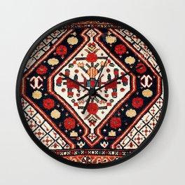 Bassiri Fars Southwest Persian Bag Face Print Wall Clock