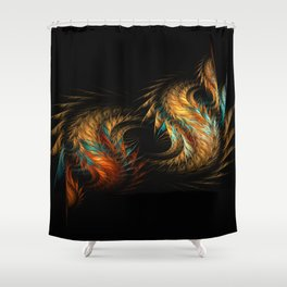 Mystical Treasure Of A Lost City Shower Curtain