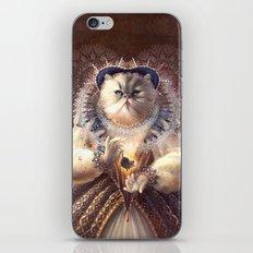 Cat Queen iPhone & iPod Skin