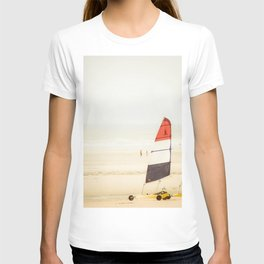 Sand yachting trio T-shirt