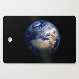 Earth In Space Cutting Board