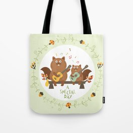 a special day Tote Bag