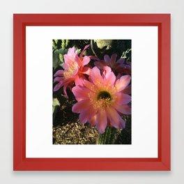 Easter Cactus Framed Art Print