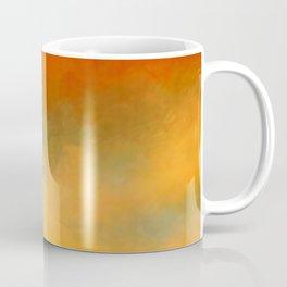 Abstract Sunset Digital Painting Coffee Mug