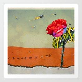 Tall Poppy Syndrome Art Print