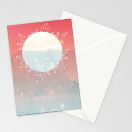 Crystal Sunrise Stationery Cards