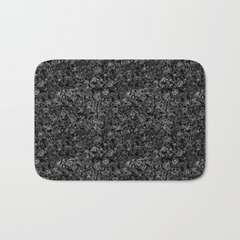 Crazy monsters in a crowd pattern Bath Mat