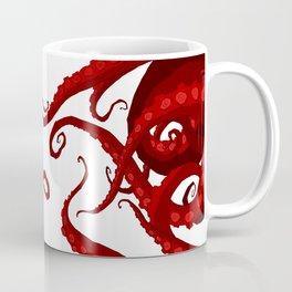 Subterranean - Red Tentacle Coffee Mug