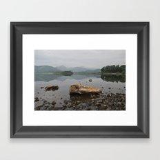 Derwentwater, Lake District Framed Art Print