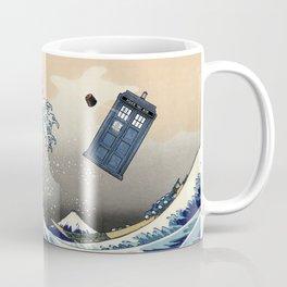 TARDIS at Kanagawa Coffee Mug