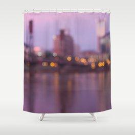 Portland at Dawn Shower Curtain