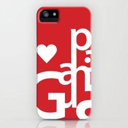 Love Graphics iPhone Case