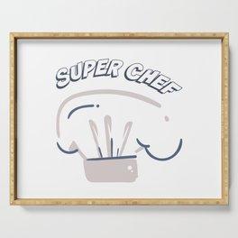 Super Chef Serving Tray