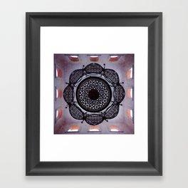 Lace magic Framed Art Print