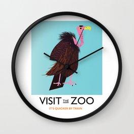 Visit the Zoo Wall Clock