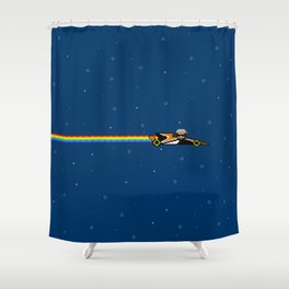 Fernyando Alonso Shower Curtain