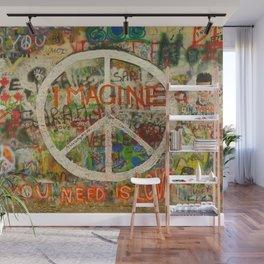 Peace Sign - Love - Graffiti Wall Mural