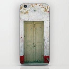 Door #0250 iPhone Skin