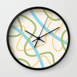 Scribbles 0004 Wall Clock