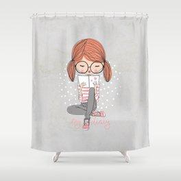 My Diary Shower Curtain