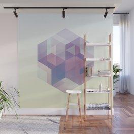 Hexagon Wall Mural