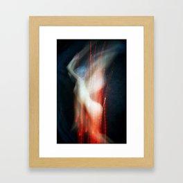 Cozmogonizm Series #64, Color Film, Analog, Art Photo, NUDE Framed Art Print