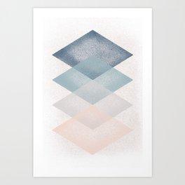 Four Plates Art Print