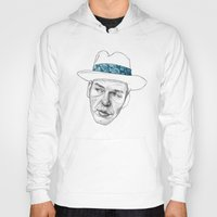 frank sinatra Hoodies featuring Sinatra by Jason Ratliff