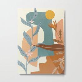 Elegant Shapes 05 Metal Print