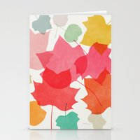 camus Stationery Cards featuring tulipifera 1 by Garima Dhawan