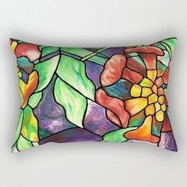 Trumpet Flower Lamp Rectangular Pillow