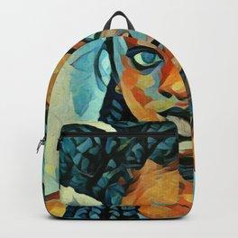 Black Blue yes Backpack