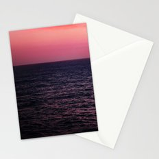 Pretty Pink Sunset Stationery Cards