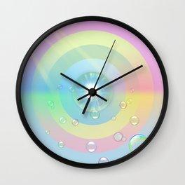 Space Circles 2.0 Wall Clock