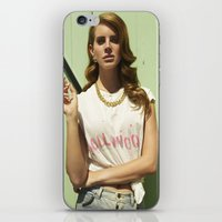 hollywood iPhone & iPod Skins featuring Hollywood by Michelle Rosario