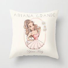 Yours Truly Throw Pillow
