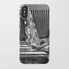 B&W Chair iPhone Case